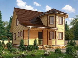 Дома из бруса в Москве