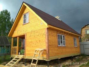Деревянный дом из бруса в Ярославской области