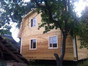 Деревянный дом в Калужской области