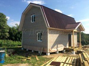 Каркасный дом в Раменском районе