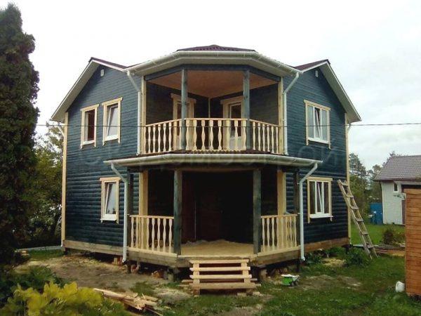 Строительство дома из бруса в Рыбинске