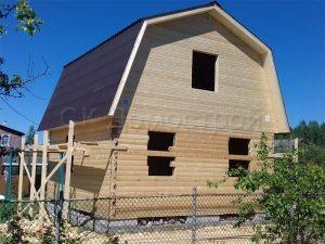 Строительство сруба дома в Лужском районе