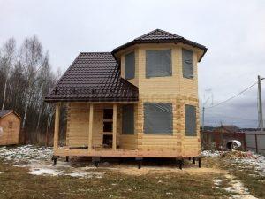 Строительство сруба дома в Можайской районе