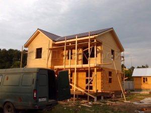 Строительство сруба в Нарофоминском районе