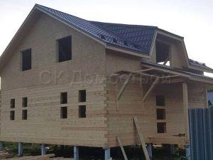 Строительство сруба дома в Калужской области