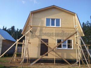 Строительство каркасного дома в Вологодской области