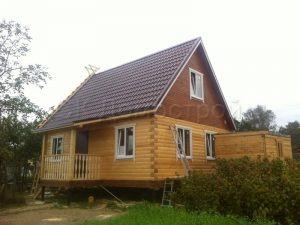 Дом из бруса 6х8 в Смоленской области
