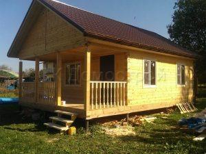 Строительство дачного дома из бруса в Шаховском районе