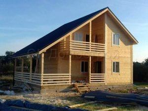 Строительство дома из бруса в Смоленской области