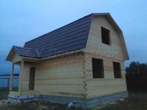 Дом под усадку 6х9 деревня Кузяево