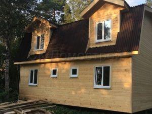 Каркасный дом в Белоострове