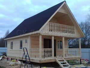 Строительство дома из бруса в Талдомском округе