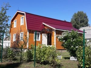Строительство дома из бруса в Волоколамском районе