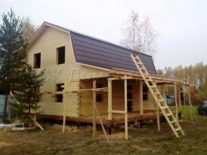 Строительство сруба дома в Кольчугинском районе