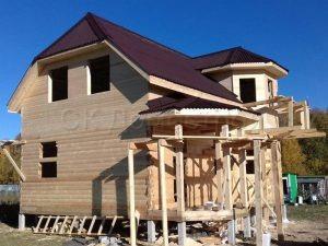 Строительство дома под усадку в Заокском районе