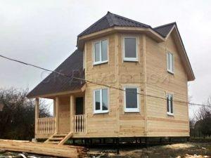 Дом из бруса 7х7 деревня Мирославка