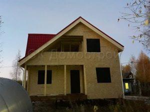 Силовой каркас дома под крышу