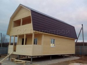 Строительство каркасного дома в Заокском районе