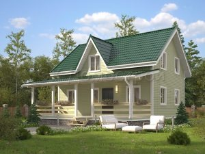 Дом «Артуров» 9х10