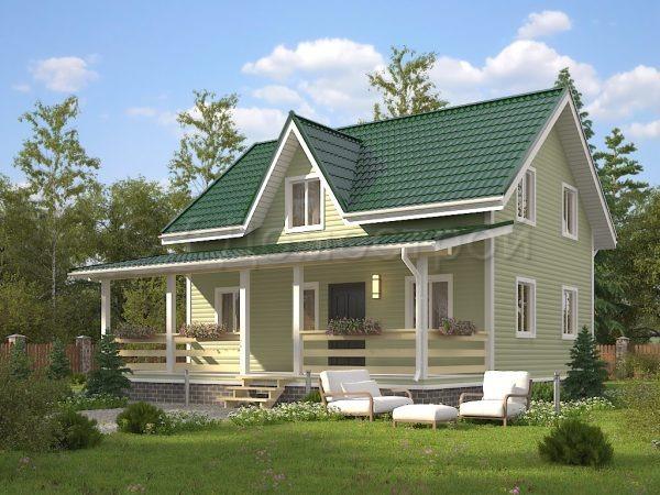 Каркасный дом 9х10 «Артуров»