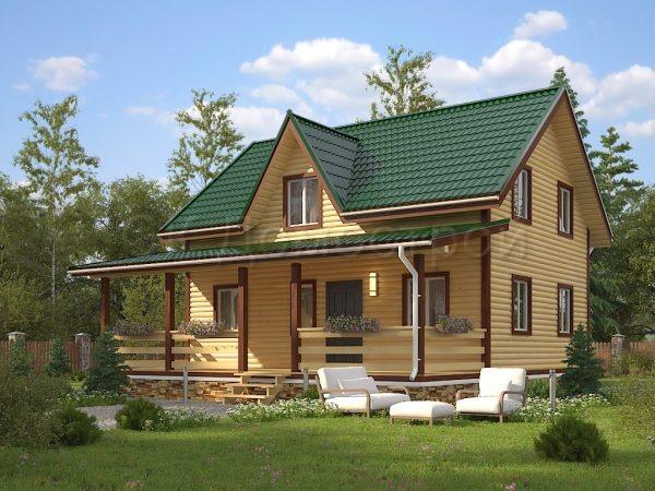 Дом из бруса «Канаш»