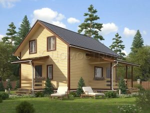 Дом из бруса «Пересвет»