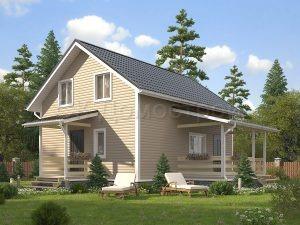 Дом «Сидоров» 7х9