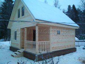 Строительство дачного дома из бруса в Тосненском районе