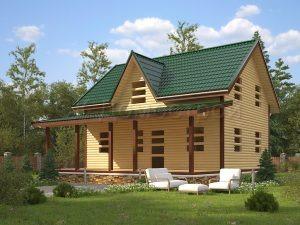 Дом «Артур» 9х10