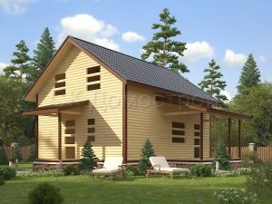 Дом «Сидор» 7х9 м