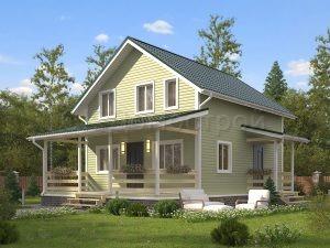 Дом «Федотов» 7х8