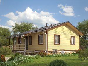 Дом «Моршанск» 9х9