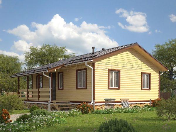 Дом из бруса «Моршанск»