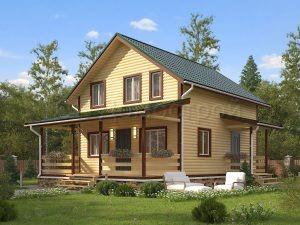 Дом из бруса «Пятигорск»