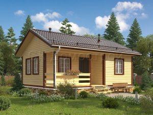 Дом из бруса «Ростов»
