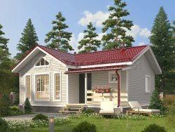 Каркасный дом 7,5х9 «Давыдов»