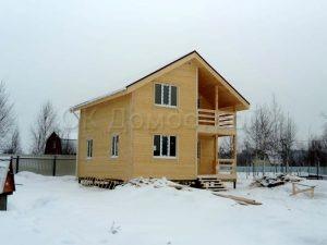 Каркасный дом 7х7 СНТ Незабудкино