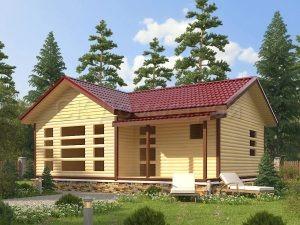 Дом «Давыд» 7,5х9 м