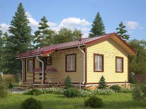 Дом из бруса «Кузнецк»