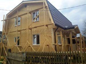 Каркасный дом 7х9 СП Гжельское Раменский район