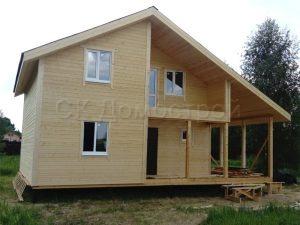 Каркасный дом 8х10,5 поселок Рыболовское
