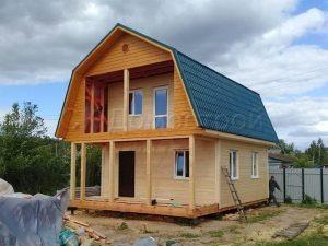 Строительство каркасного дома в Тульской области