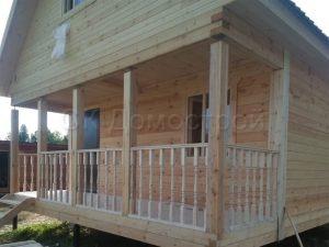 Строительство дома из бруса в Ярославле