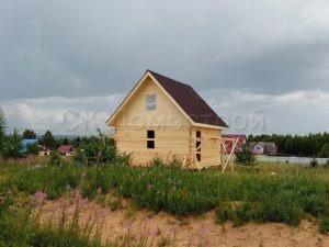 Дом под усадку 6х6 поселок Любытино