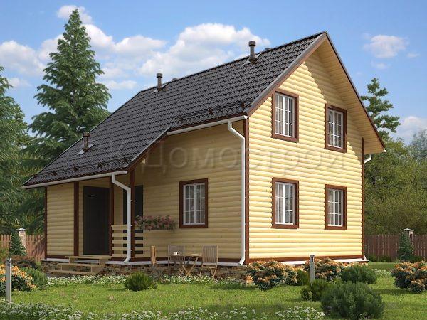 Дом из бруса «Ардатов»