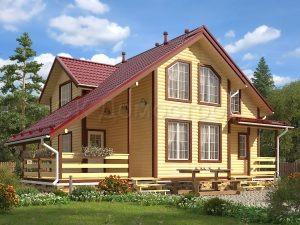 Дом из бруса «Боровск»