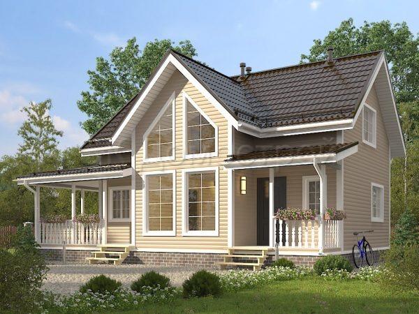 Каркасный дом 7,5Х12 «Филиппов»