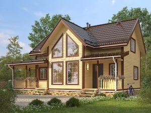 Дом из бруса «Шадринск»