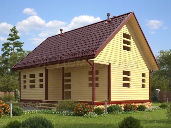Дом «Бажен» 7Х9