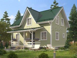 Каркасный дом «Харитонов» 6х9